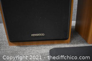 Pair of Kenwood Speakers