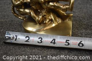 Brass Tug of War