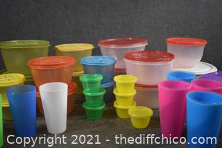 Rubbermaid Storage Containers w/Lid plus More