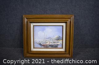 Framed Signed Original