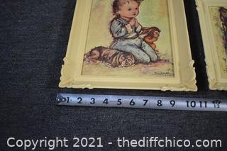 2 Vintage Prints