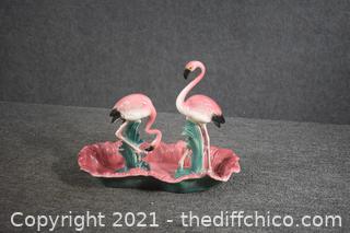 3 Collectible Flamingo Pieces
