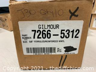 """Gilmour 7266-5312 5/8"""" Ferrules - Qty 50 (J30)"""