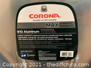 Corona #10 Aluminum Western Scoop Shovel (J32)