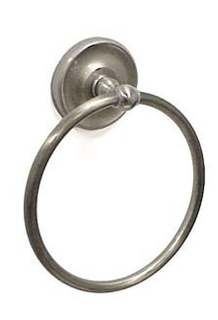 Taymor 04-SN7904 Satin Nickel Towel Ring (J60)