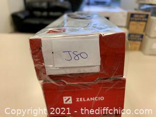 Zelancio Stainless Steel Garlic Press - Qty 5 (J80)