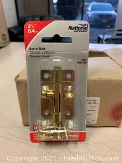 National Hardware N151-480 834 Barrel Bolts - 10 Pack (J114)