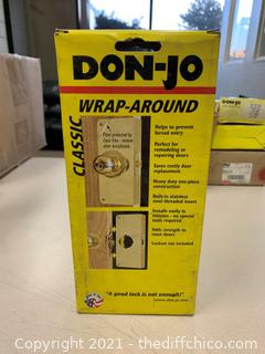 Don-Jo 1-S-CW Wrap Around Plate - Satin Stainless Steel (J119)