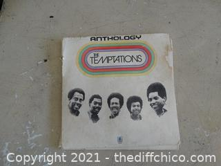 Anthology The Temptations Record