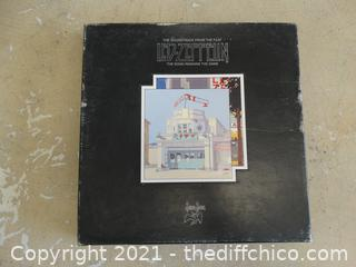 Led Zepplin Box Only With Book Inside