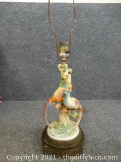 Bird Lamp (NEEDS Repair)