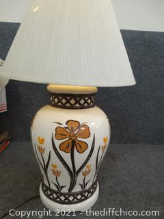 Working Lamp With Shade