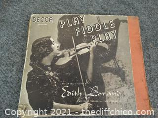 Deca Play The Fiddle Records