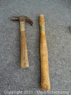 Hammer And Wood Handle