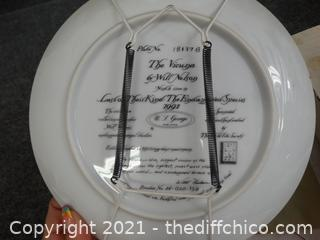 The Vicuna Numbered Plate With COA