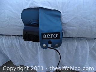 """Working Aero Bed With Built In Pump 60"""" x 78"""""""