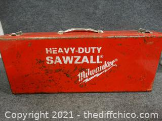 Milwaukee Heavy Duty Sawzall  Works
