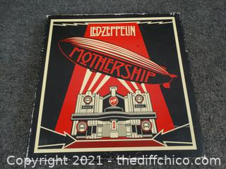 Led Zeppelin Records 4 record set
