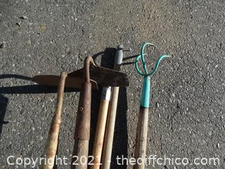 Mixed Yard Tools