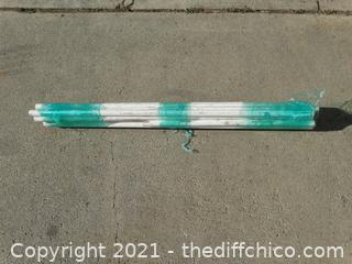 "15 Pieces 3/4"" PVC Sprinkler Pipe Misc Sizes"