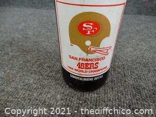 49ER 7 -11 Coke Bottle