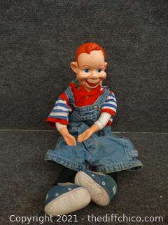 Vintage Howdy Doody Valtrirquist  Doll