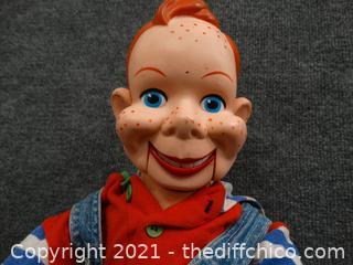 Vintage Howdy Doody Valtrirquist  Doll