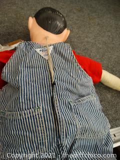 Vintage Charlie McCarthy Ventriloquist Doll