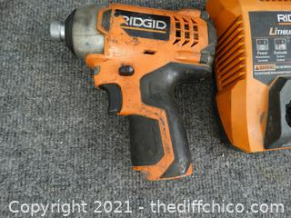 Working Rigid Impact Driver & Charger