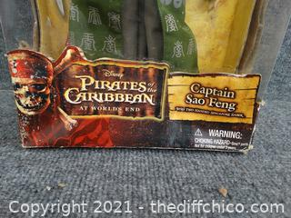 New Pirates Of The Caribbean  Captain  Sao Feng