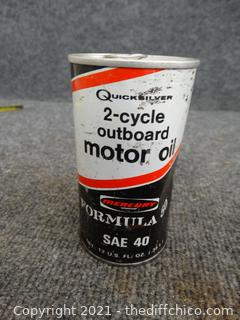2 Cycle Outboard  Motor Oil new