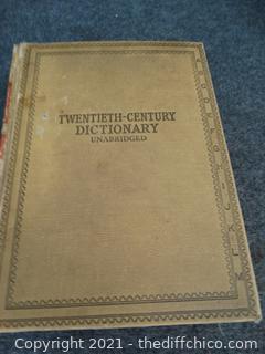 Twentieth Century  Dictionary 1938