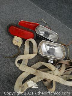 Lights,  Straps & More
