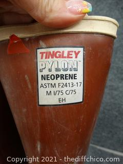 Size 9 Tingley Pylon  Neoprene Boots