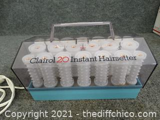 Clairol 20 Instant Hair Rollers