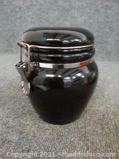 Small Black Pot