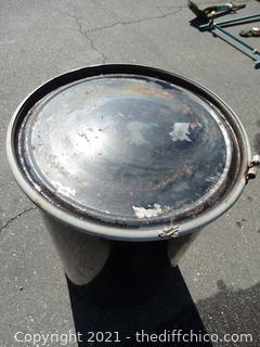 55 Gallon Drum With Lid