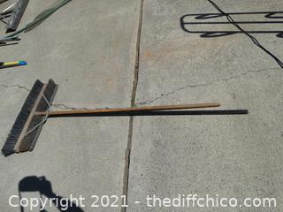 2 Push Brooms
