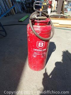Brigade Industrial  Concrete  Sprayer