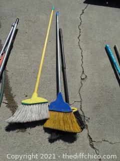 3 Brooms