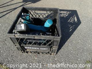 Black Crate Of Untested Tools