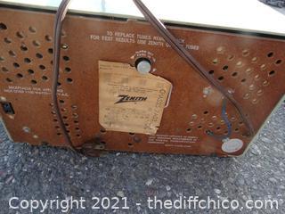 Vintage Zenith Radio Doesn't Work