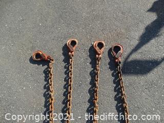 Pewag  4 Leg Chain Sling  WLL22800
