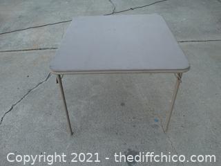 Card Table see pics