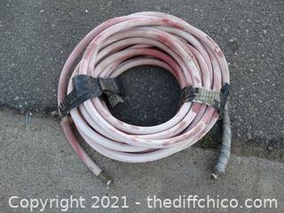 """Air Hose Faded Red 1/4"""" 50 ft"""