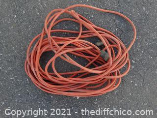 Orange Extension Cord 50 ft