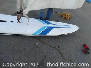 "Surf  / Paddle Board 12' 1"" x 2' 1"""