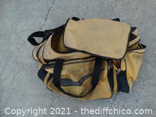 Well Loved Yellow Tool Bag