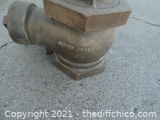 Vintage Brass Water Valve