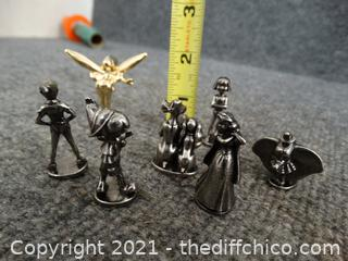 Mini Pewter Statues